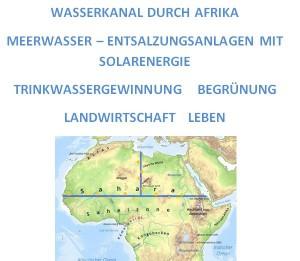 Meerwasserkanal - Entsalzungsanlagen - Trinkwasser - Leben